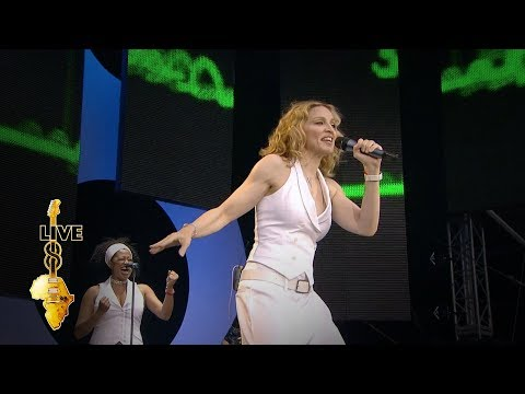Madonna - Ray Of Light (Live 8 2005)