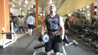 Side Lateral & T-Nation Dead Squat Bar Press Superset