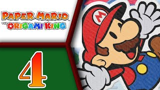 Paper Mario: The Origami King playthrough pt4 - The Hills Are Alive, With Hiding Toads!