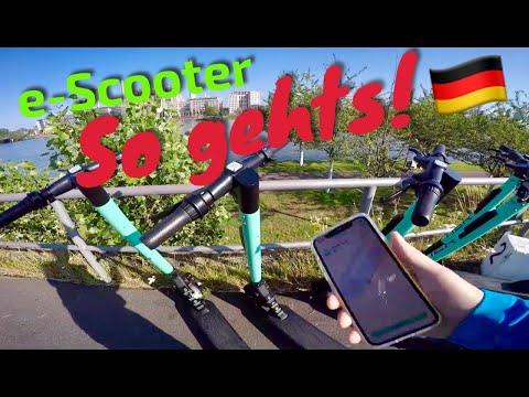 TIER E-Scooter 🛴 Zum Mieten Per App @ Frankfurt Am Main FFM