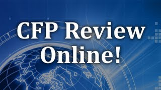 cfp exam review recession and economic stagnation