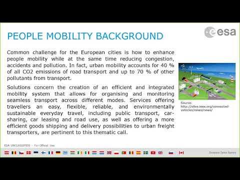 People Mobility Kick-start Activity - Webinar 20 September 2017