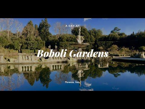 Florence, Italy Boboli Gardens January 14 2019