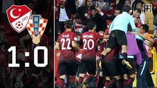 Cenk Tosun hält Türkei im Rennen um WM-Ticket: Türkei - Kroatien 1:0 | Highlights | WM-Quali | DAZN
