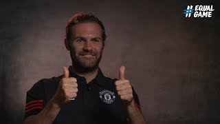 #EqualGame: Juan Mata learns sign language