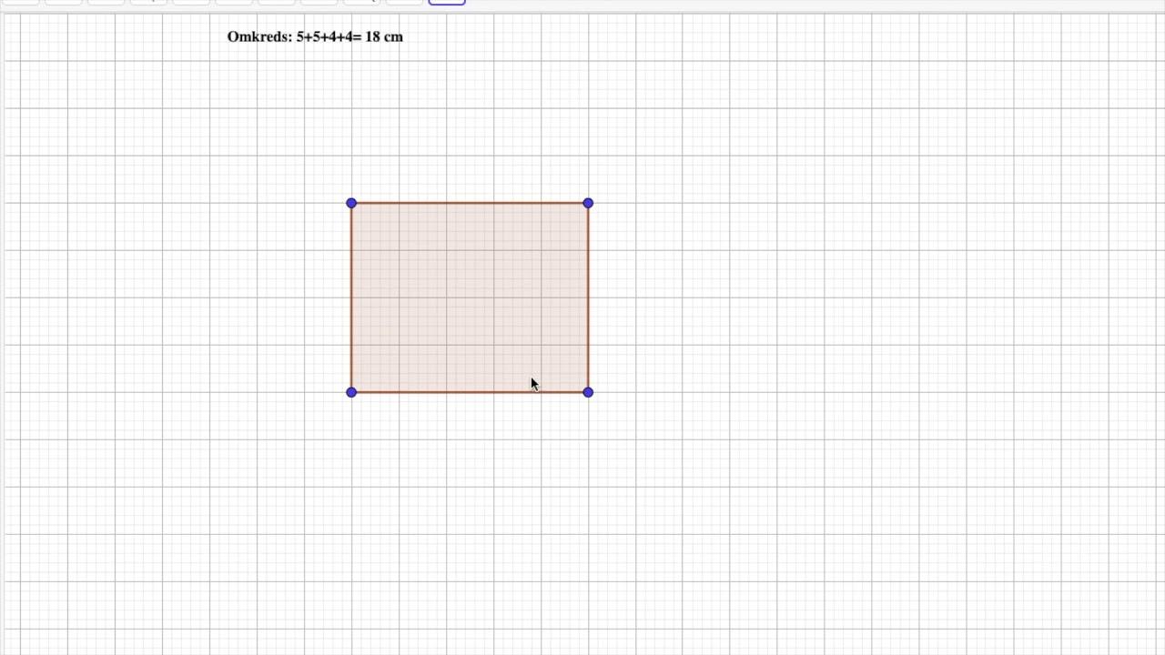 Areal og omkreds af rektangel