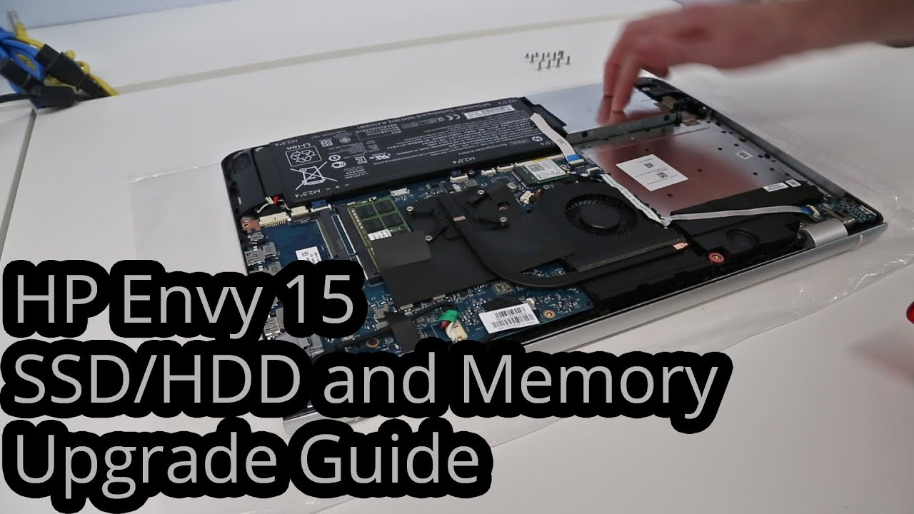Hp Envy 15 Ah151sa Hdd Ssd And Memory Upgrade Guide