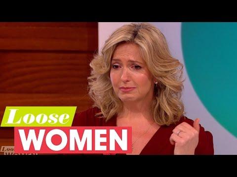 Penny Lancaster Breaks Down When Describing Childhood Attack | Loose Women
