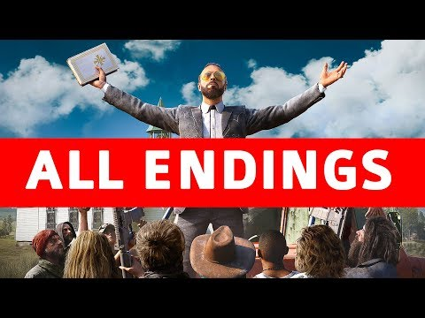 Far Cry 5 All Endings (Good Ending / Bad Ending / Secret Alt