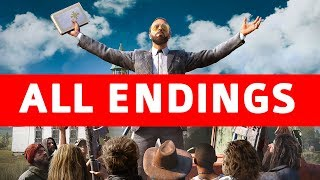Far Cry 5 All Endings (Good Ending / Bad Ending / Secret Alternate Ending / Boss Endings) Mp3