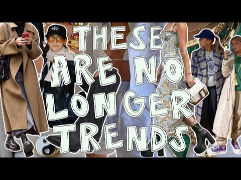 trends that aren't trendy anymore