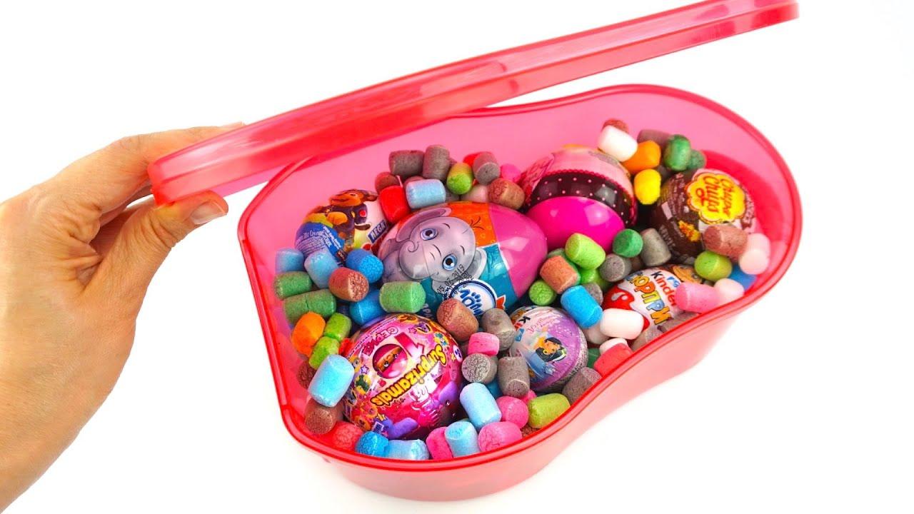Сюрпризы и игрушки. Детские видео Игрушкин ТВ