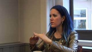 Arch Enemy France Interview Alissa White-Gluz