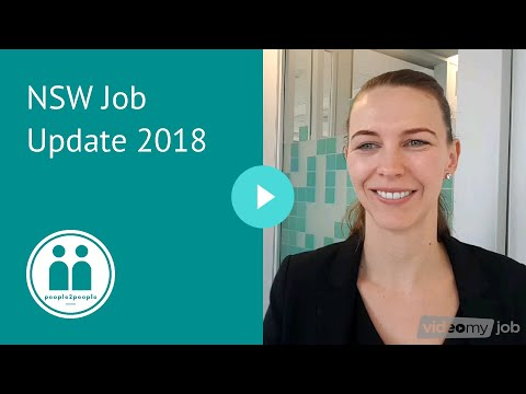 NSW Job Update 2018