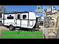 New Floor Plan 2018 ROCKWOOD GEO PRO 17PR Hybrid Tip Out Murphy Bed Model RV Camper Colorado Dealer