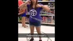 Strippers in Walmart