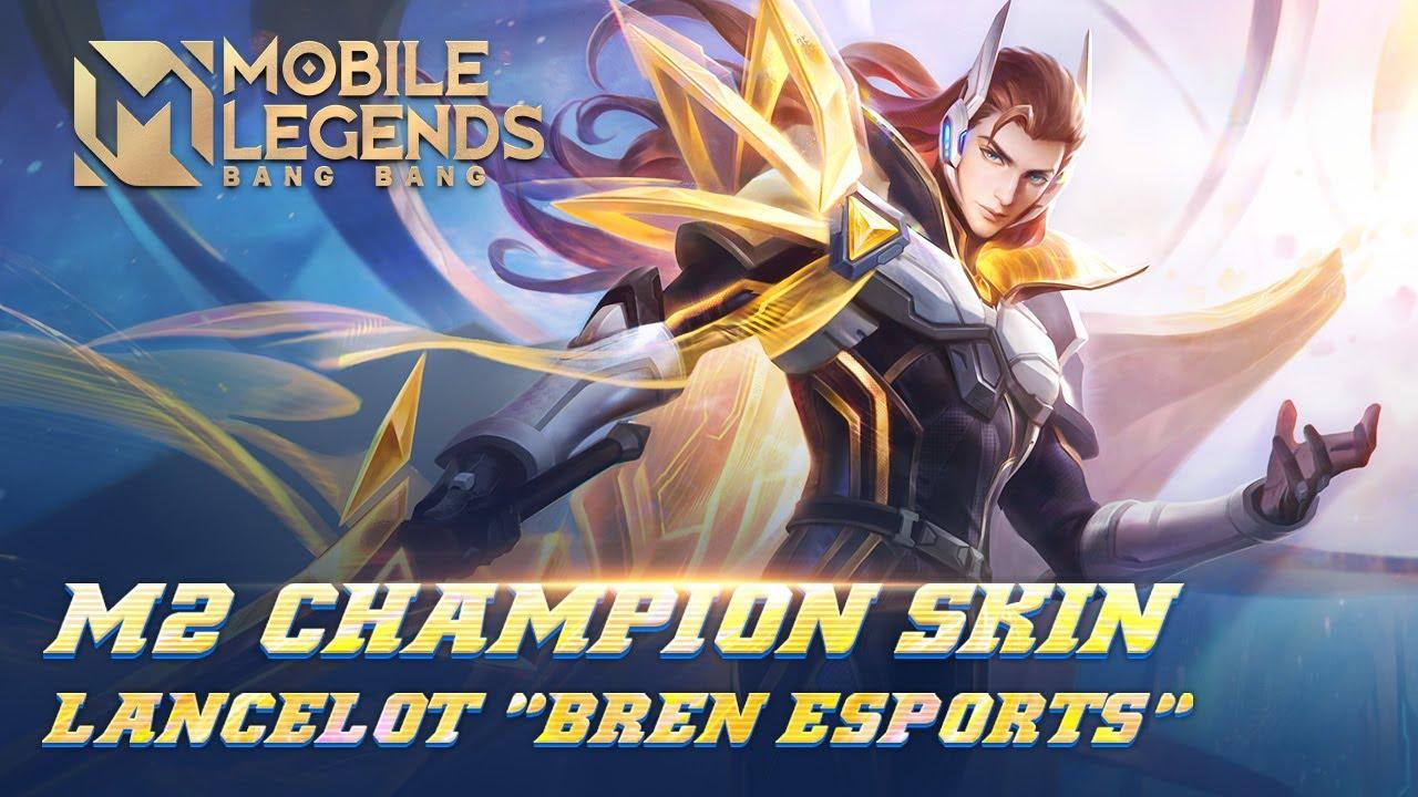 Lancelot M2 Şampiyonu Kostümü | Bren Esports | Mobile Legends: Bang Bang