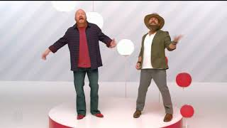 Red Marlow and Adam Cunningham Holiday Target Ad