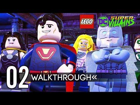 LEGO DC Super-Villains Gameplay Walkthrough Part 2 (No Commentary) 1080p 60FPS HD