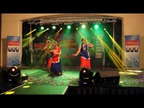Krishna theme dance performance by Pallavi, Paromita, Jayashri and Somia in Cambridge, UK