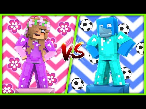 BOYS VS GIRLS | WHO IS BETTER? | Minecraft Little Kelly Play