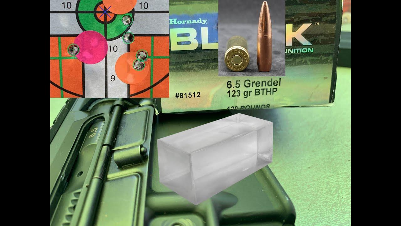 Download 6.5 Grendel (6.5x39mm), 123gr BTHP, Hornady Black (81512) Review