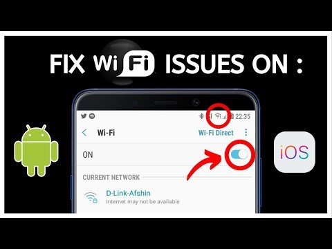 How to Fix Wi-Fi Problem on Android & IOS [NOT CONNECTING OR SLOW]