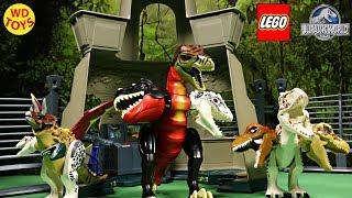 New Lego Jurassic World 11 Hybrid Mutant Surprise Eggs Jurassic Park Command Compound  Dinosaur Toys