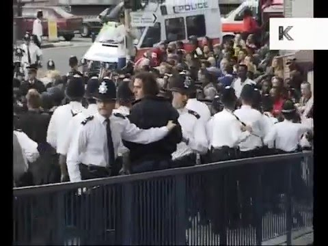 1998 Protest at Stephen Lawrence Inquiry, 1990s