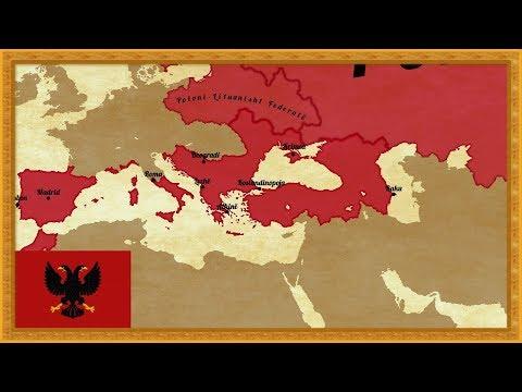 EUIV   Timelapse - Albania or Iberia (Albania Part 1)