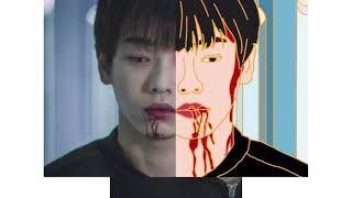 Pin draft — Chinese Actor Yuchang Peng 彭昱畅 金属徽章 3