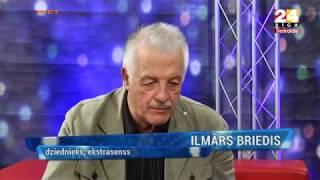 Ekstrasensa Ilmāra Brieža intervija TV24 2015 gada decembris