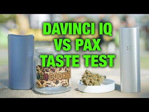 The New DaVinci IQ VS Pax 2 @ High Times Cannabis Cup 2016