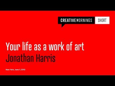 Jonathan Harris: [Short] Your life as a work of art