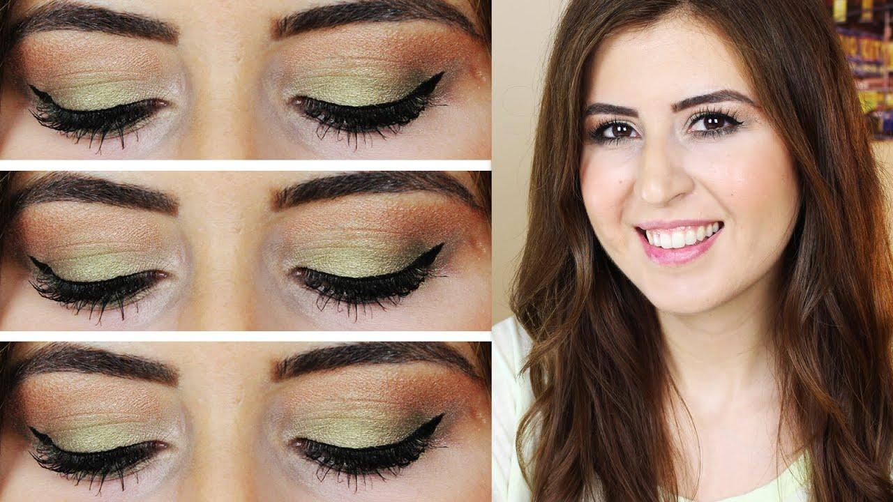 Yeşil Göz Makyajı Nasıl Yapılır