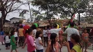 Lomba Joget Balon Ibu-ibu HUT RI Ke 72 Rt001/03