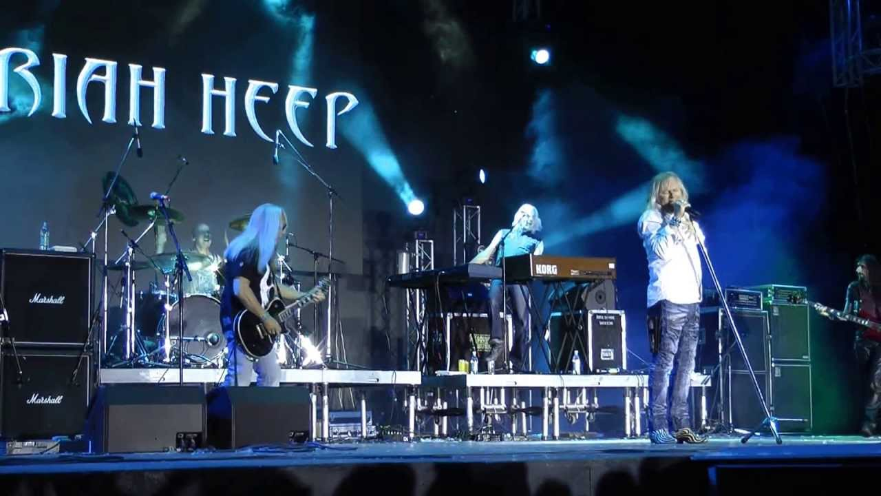 Uriah Heep Moscow Live 06 06 2013 Gorky Park Hd Youtube