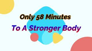 Only 58 Minutes to a Stronger Body!  Pure Power with Regan