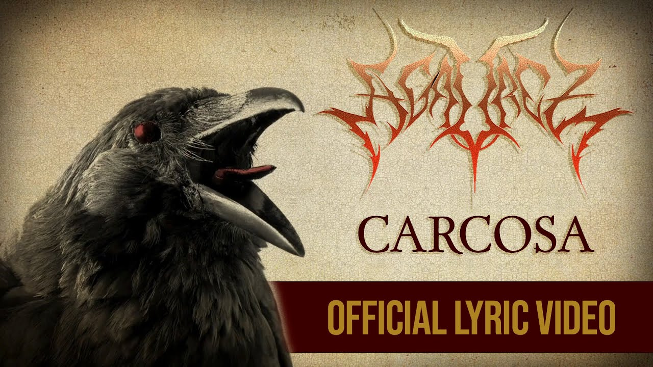 AGAUREZ - Carcosa | OFFICIAL LYRIC VIDEO | Goblin Filmes