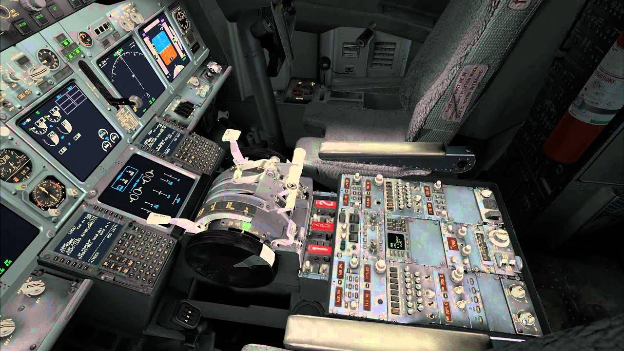 Pmdg 737 Ngx Interior Lighting Demo Youtube