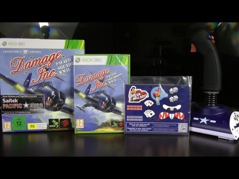 Damage Inc.: Pacific Squadron WWII Collector's Edition - Rozpakowanie (Unboxing) [360/PS3]