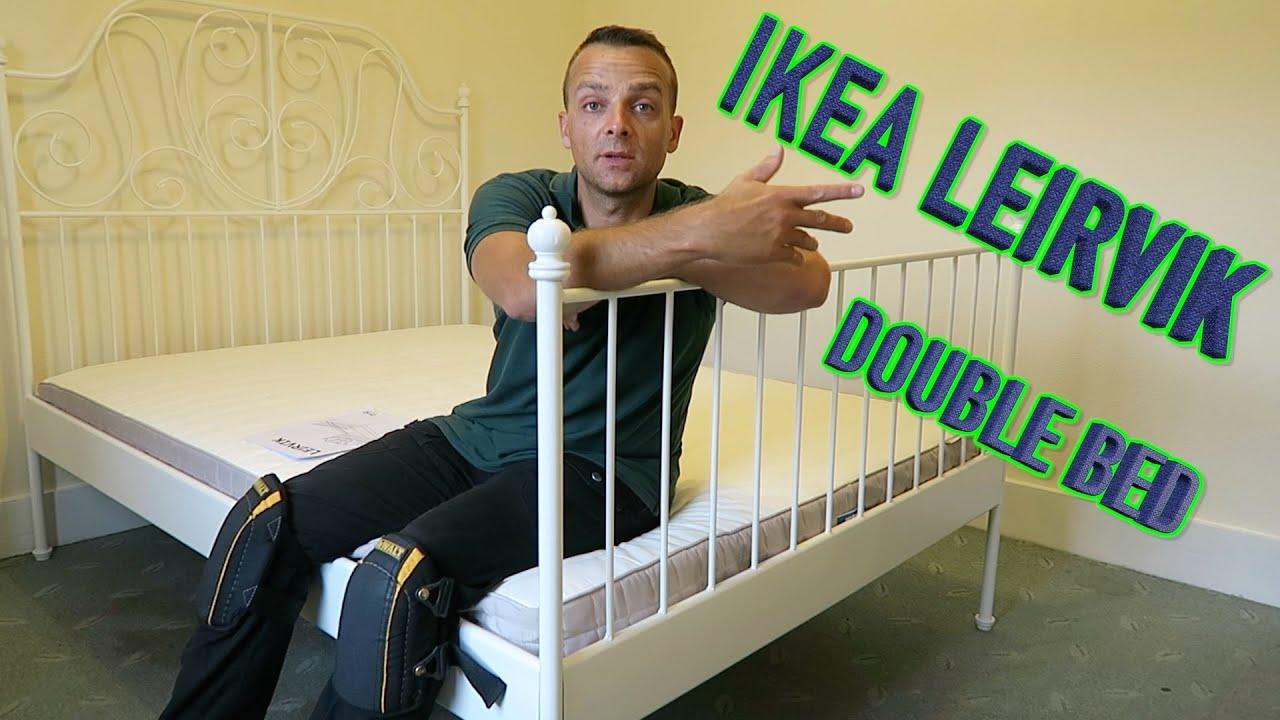 ikea leirvik bed frame assembly - Ikea Leirvik Bed Frame