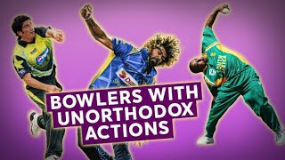Don't try this at home! | Unusual bowling actions | Bowlers Month