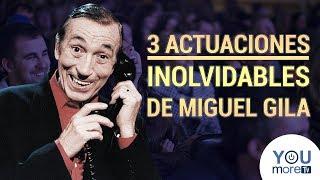 3 Actuaciones Inolvidables de Miguel Gila