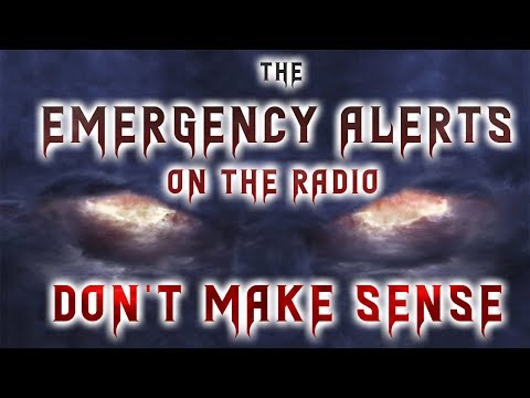 The emergency alerts on the radio don't make sense (Parts 1& 2) Creepypasta Reading