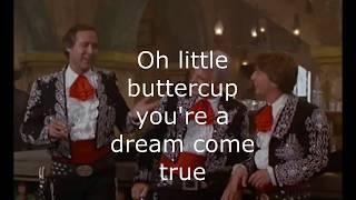My Little buttercup with Lyrics