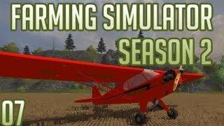 Farming Simulator 2013 w/ Docm77 Season 2:  #7 - Piper Airplane