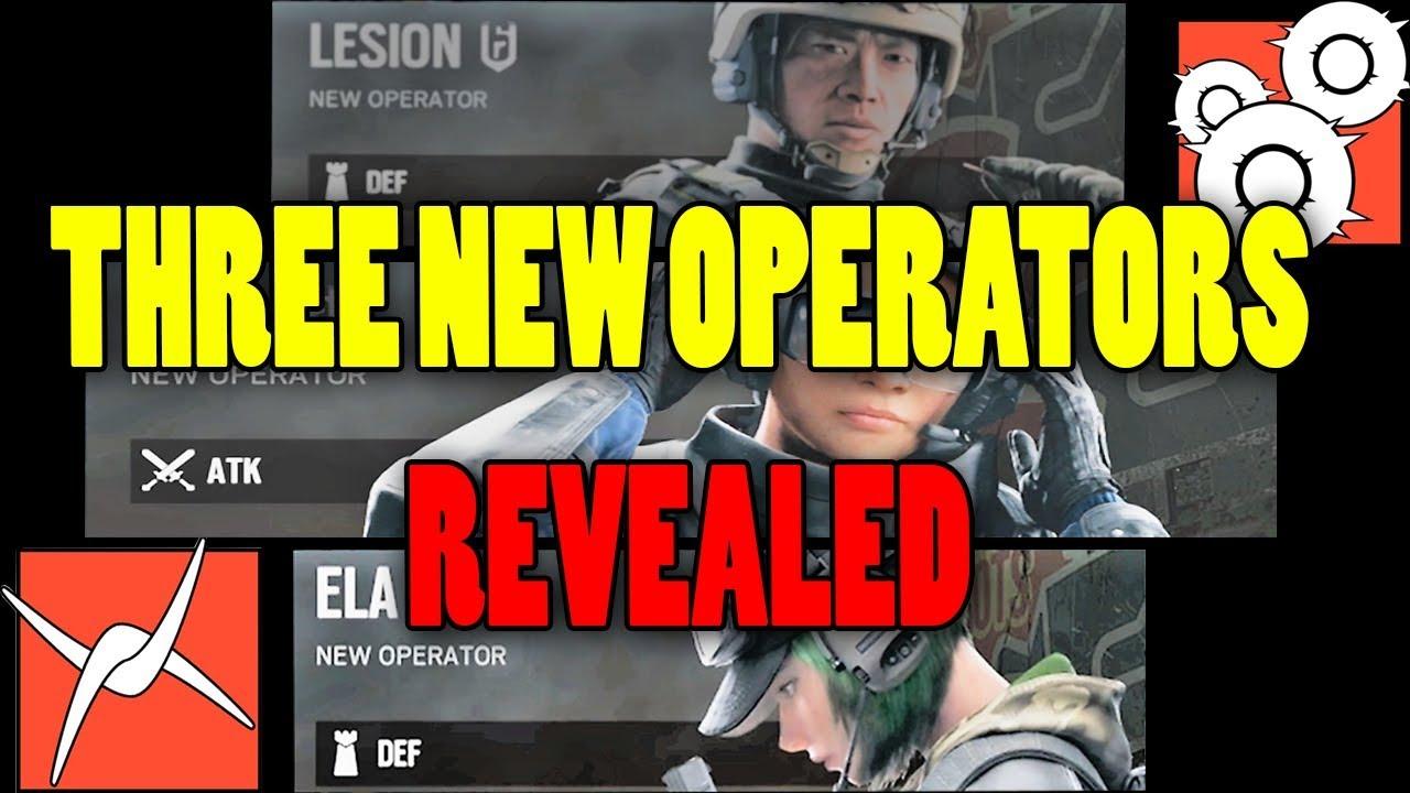 Rainbow Six Siege New Operators Leak, Operation Blood