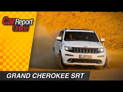 Jeep Grand Cherokee SRT - Test Fahrbericht Review - Car Report Online