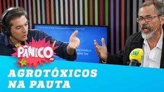 CHAMA O SAMU! Barciela e Nunes discutem sobre agrotóxicos